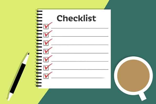 Starting a coaching business checklist